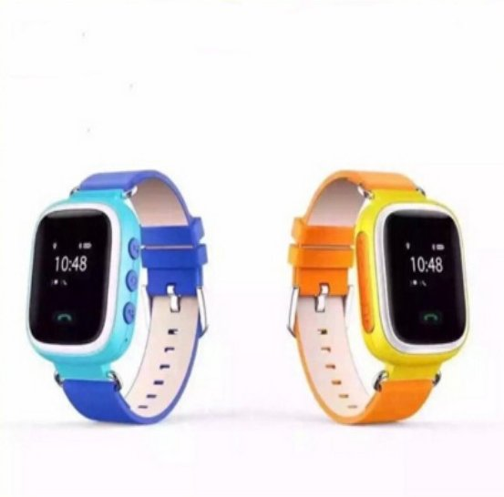 high quality GPS SOS Remote monitor Phone calls children smart watch
