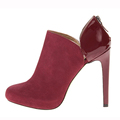 top quality new style cut out ankle ladies high heel boots