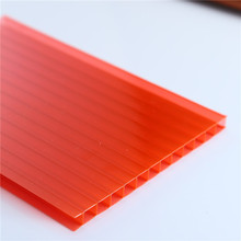Makrolon B1 Grade fire proof/UV protection polycarbonate hollow sheet/High quality polycarbonate sun sheet
