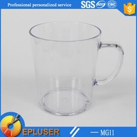 New coming travel mug 12oz transparent plastic coffee mug