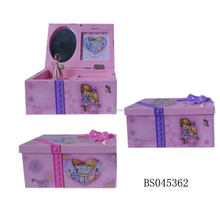Dancing Ballerina Music Box with Mirror for Home Decoration
