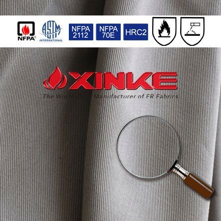 Xinke 88/12 cotton nylon flame retardant fabric yard