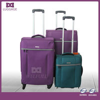 colorful polo luggage trolley