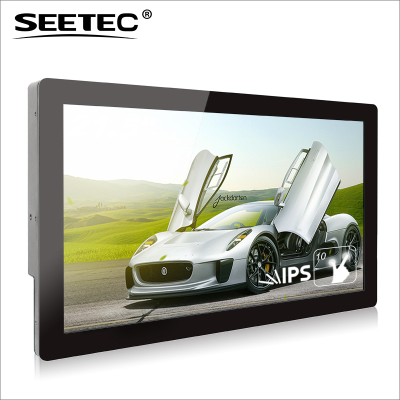 SEETEC 21 inch innovative advertising product with capacitive touch screen 1920*1080 resolution