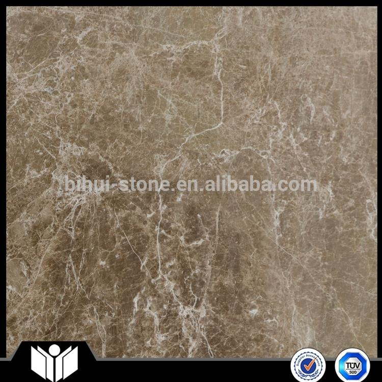 Low cost new product emperador light bathroom floor tiles