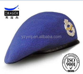 High Quality Field Grade Officer Beret Military Beret
