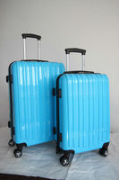 carry on luggage 2013 Hot selling 100% PC trolley luggage case