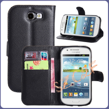Wholesale Wallet case for samsung flip leather cover phone case for samsung i8730