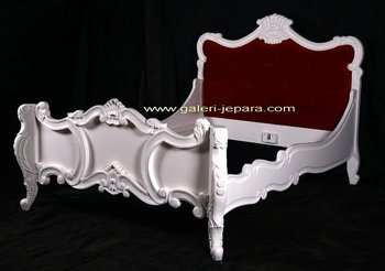 Hotel Set Furniture - French Bedroom Furniture With Solid Mahogany Wood
