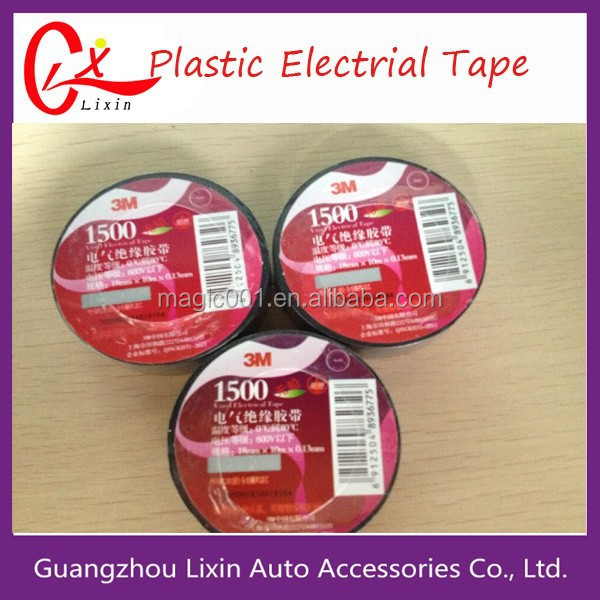 China manufactory insulation adhesive PVC electric tape for wire