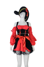 ladies pirate plus size costume