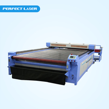 Fabric stamping machine with auto-roller and auto-feeder