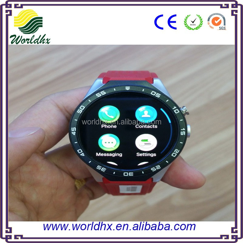 smart watch KW88, Christmas Promotional Gift 2016 CE ROHS KingWear KW88 1.39 inch Android 5.1 Smart Watch 3G 3g gps