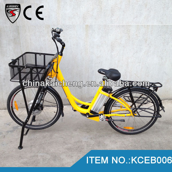 Strong e bike 26 inch pedal assist post bike 36V/250W with CE