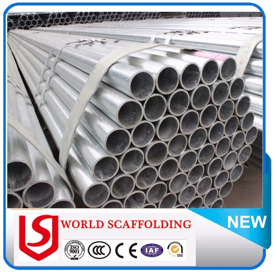 Manufacturer Directly Supply Q235 Material Pre-galvanized Steel Pipe Manufacturer From China