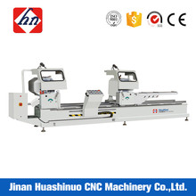Double head aluminium profile cutting machine for window and door
