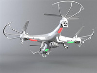 Latest style!!! White Syma X5C Explorers 6 Axis 4CH RC Quadcopter Radio Control Toy