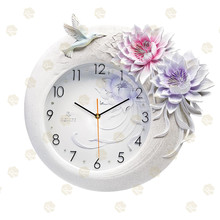 Fixed on the wall and can Removable Clock wall clock decor/