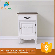 best choice white bedside night table with drawers