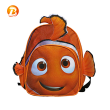 High quality china children lovely Cartoon Design kids school backpack