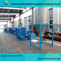HDPE recycling washing machine HDPE film bag scrap washing plant