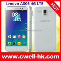 Brand Mobile Lenovo A806 5.0'' IPS Screen 1280*720 MTK6592 Octa Core 2GB+16GB Android 4.4 13.0MP Smart Mobile Phone 3G WCDMA