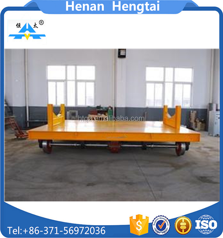 Hydraulic Lifting Table Battery Trackless Cart Cross-bay Transport