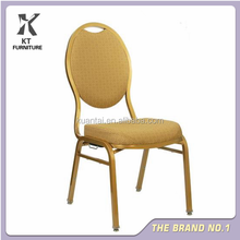 CHEAPER HOTEL FURNITURE BANQUET IRON CHAIRS STACKING CONFERENCE CHAIR