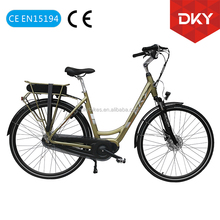 28'' Electric city Bicycle Holland Style with Central motor City Electric bicycle