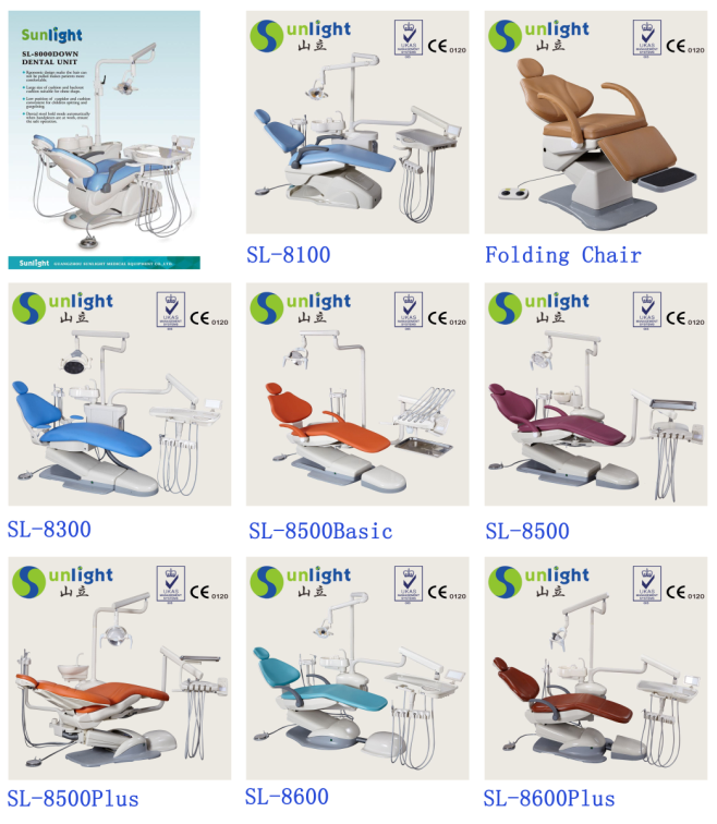 Hot Selling Electricity Sunlight computer controlled dental chair wholesale online