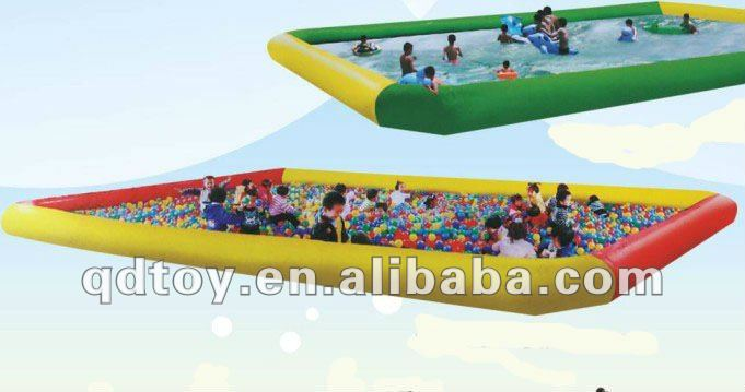Exciting Inflatable products, Multi-function pool + Water-playing toys / ocean balls