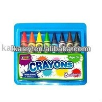 2014 Crayons in plastic box with ASTM D 4236,EN71 etc
