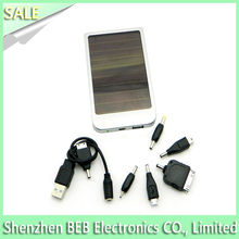 High efficiency 2600mah mini usb solar panel charger for mobilephones