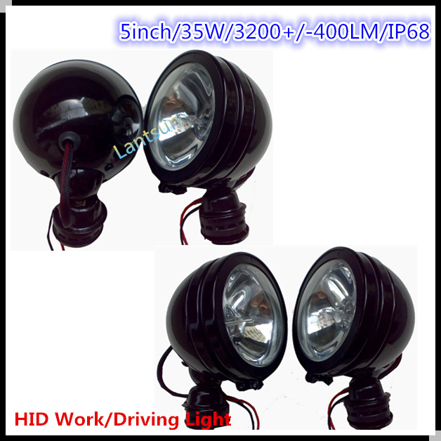 New nice apperence auto hid driving light,auto tuning light 35w/55w super bright hid work light for heavy truck