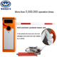 Access Control Car Parking Sensor System Barrier Boom Barrier