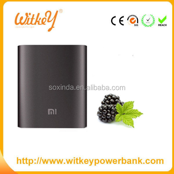 Sostar 10400mah power bank for xiaomi pass TUV SA8000