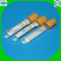Gel and Clot blood test tube
