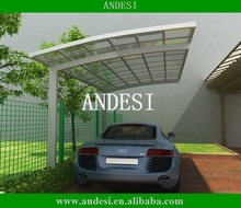 outdoor aluminum car shelter product