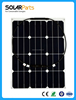 40W Marine Semi Flexible Sunpower Monocrystalline Silicon Solar Panels