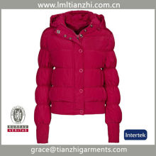 2014 Hot Pink NEW Fashion Style Women's Quilting Down Coat