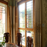 Aluminum clad wood windows indoor or outdoor