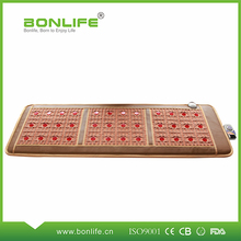 Healthcare promotion thermotherapy jade heating massage mattress for bed nature jade heated mat