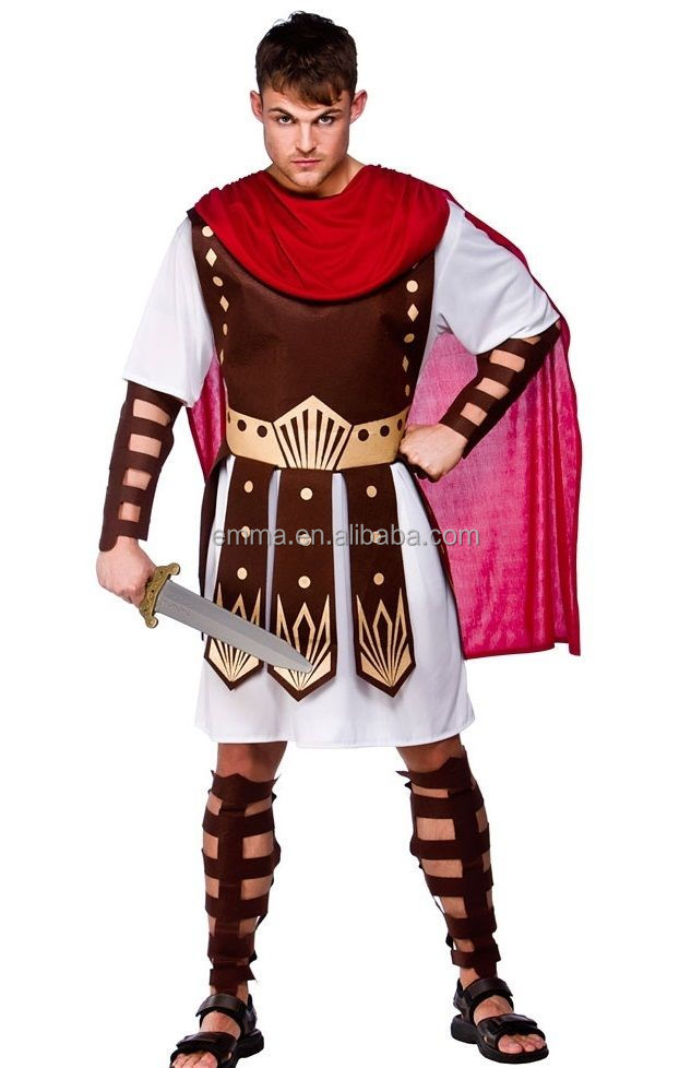 Cool roman soldier costume halloween cosplay carnival costume BMG17271
