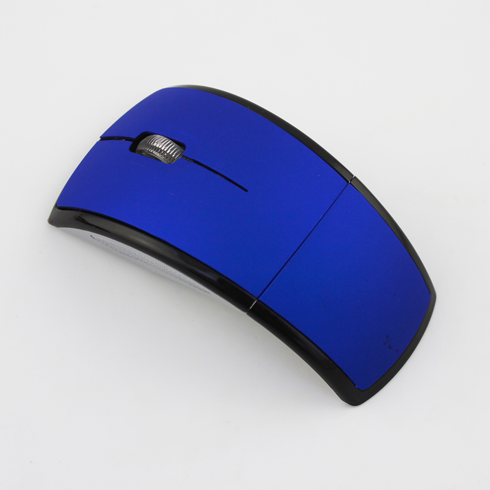 New products 2.4G Folding Wireless Mouse Classic Foldable 760 Optical Wireless Mouse