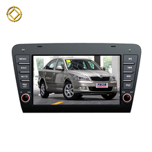 Android 7.1 2 din car dvd gps for skoda octavia with Wifi car radio stereo