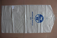 LDPE transparent garment packing bag for dry cleaner