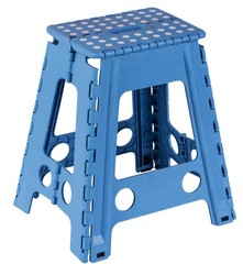 Plastic colorful folding step stool,home furniture chair /stool