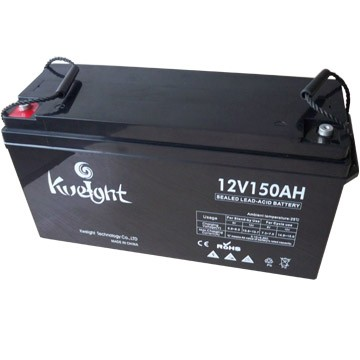 12V 150ah Reliable performance deep cycle gel solar battery