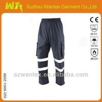 Hi Vis Cargo Overtrouser NAVY work trousers