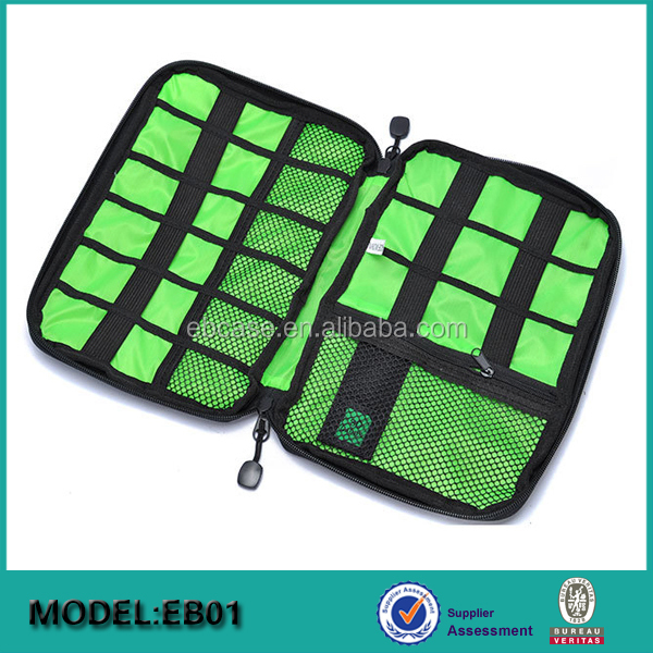 Travel Gear Organizer USB Drive Cable Bag Case,Electrician Tool Bag